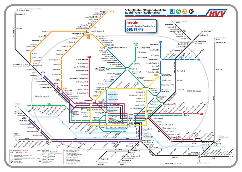 hamburg ubahn karte ᐅ U Bahn Plan Hamburg 2018 – Karte, Tickets & Preise