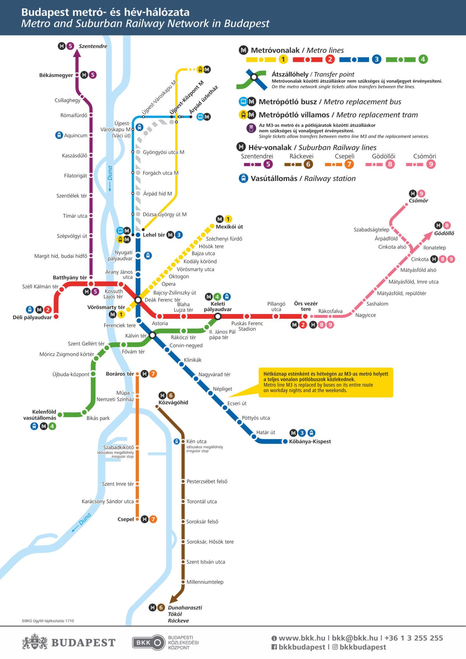 ᐅ Budapest Metro Map 2018 Schnell Von Ab In Budapest